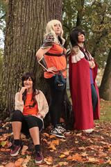 Annabeth, Reyna and Piper