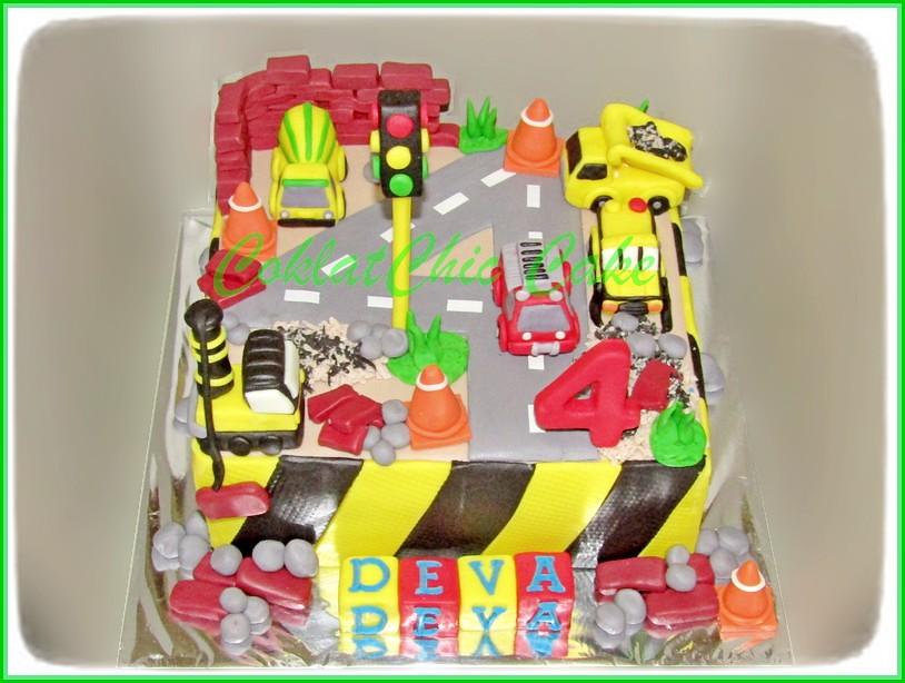 Cake Construction Site DEVA 20 cm