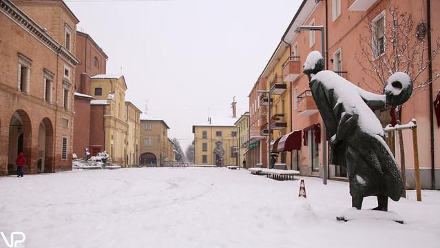 Nevicata del 1 marzo, ecco le foto scattate nella nostra città