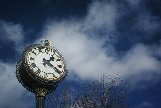 Morningside Clock - Edinburgh Scotland March '08