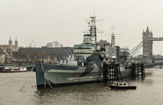 2018 02FEB21 - HMS BELFAST, RICOH PENTAX K-S2, smc PENTAX-DA L 18-50mm F4-5.6 DC WR RE