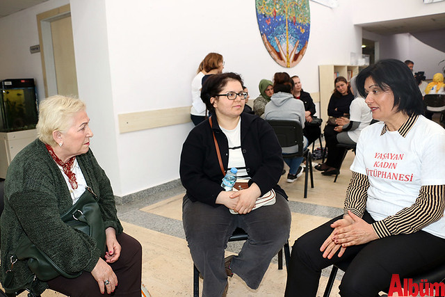 Antalya Büyükşehir Belediyesi 'Yaşayan Kadın Kütüphanesi'-2