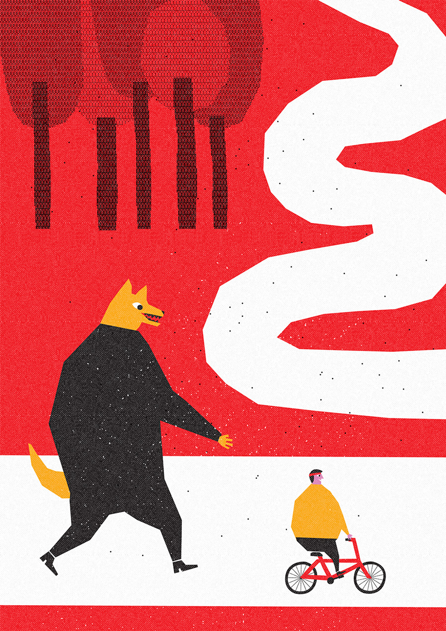 Dani Scharf-Vida de perro