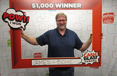 James Jenkins - $1,000 - Cash Blast - Boise - Jacksons