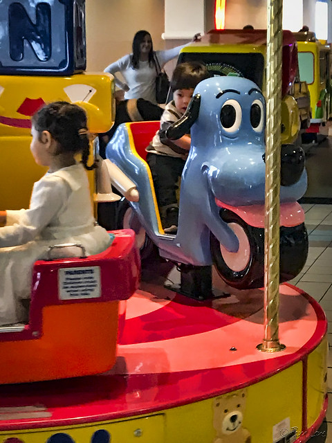 Stonewood kid's ride