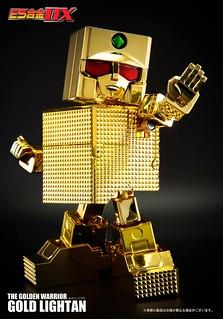 【官圖&販售資訊更新】懷念的早期動畫!ES合金 《黃金戰士》 (無敵小戰士) 閃亮現身!黄金戦士ゴールドライタ