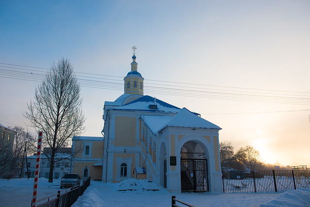 Колокольня Нижне-Никольской церкви, Nikon D800, AF-S Zoom-Nikkor 24-70mm f/2.8G ED