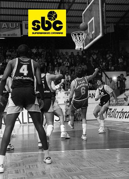 Un equipo de Archivo: Cajacanarias-Cai Zaragoza (Temporada 1987-88)