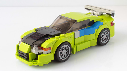 Lego Fast and Furious Mitsubishi Eclipse MOC