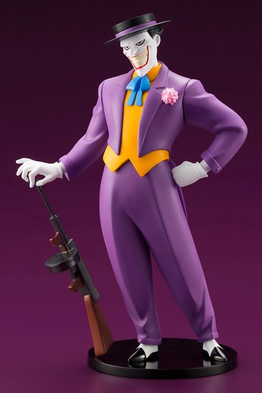 令人難忘的經典形象,堂堂犯罪王子登場!! 壽屋 ARTFX+ 系列《蝙蝠俠:動畫系列》小丑 ジョーカー アニメイテッド