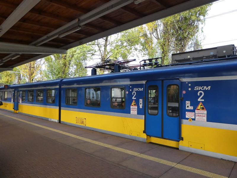 SKM train to Tricity, Gdańsk