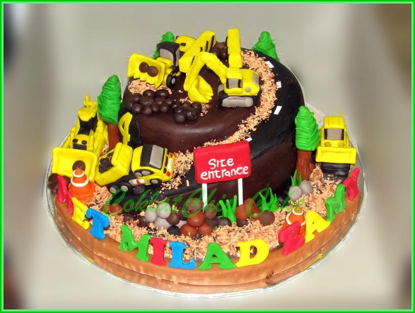 Cake Construction Site ZAMY 15 cm