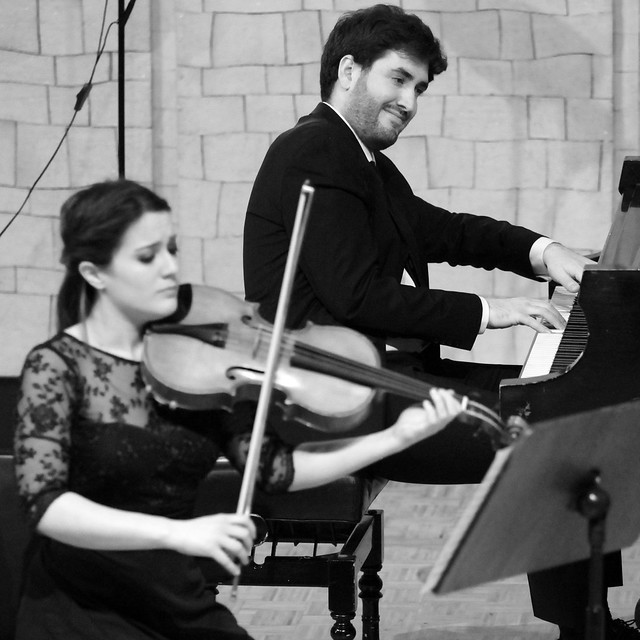 """TRÍO ARNICHES - CLARINETE, CELLO Y PIANO - AUDITORIO """"ÁNGEL BARJA"""" DEL CONSERVATORIO DE LEÓN - MARTES 6 DE MARZO´18"""