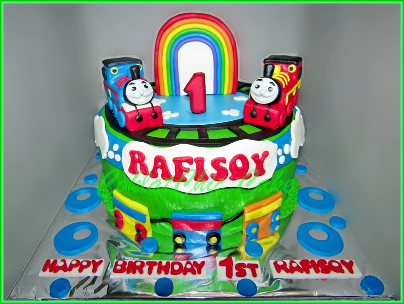 Cake Thomas & Friends RAFISQY 18 cm