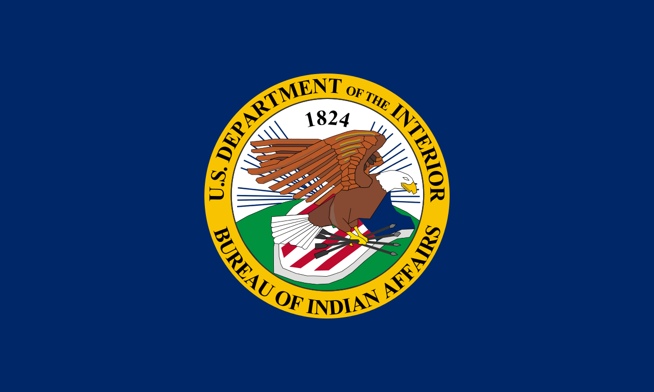 Bureau of Indian Affairs flag