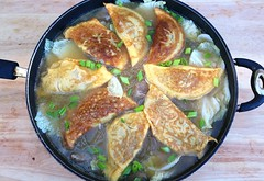 CHINESE NEW YEAR EGG DUMPLING SOUP ( 蛋饺 ) ( DAN JIAO )