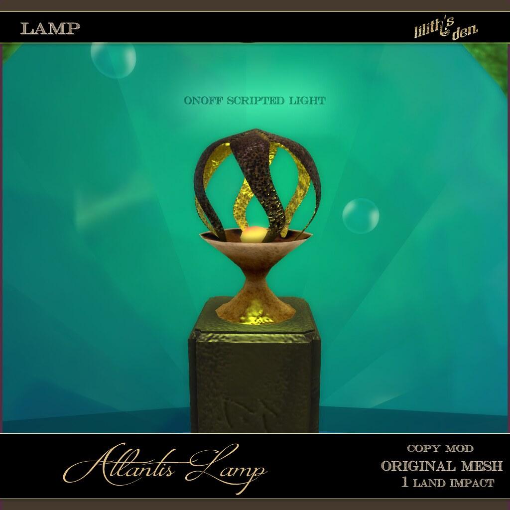 Lilith's Den –  Atlantis Lamp