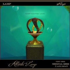 Lilith's Den -  Atlantis Lamp