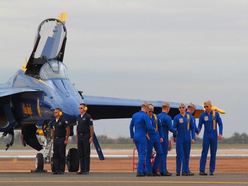 IMG_2053 Blue Angels Pilots, NAF El Centro Air Show