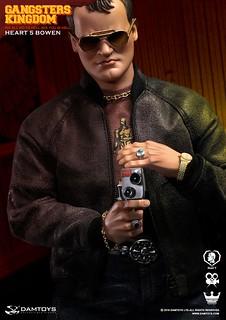 「暴力,是一種美學」DAMTOYS 黑幫王國【紅心5 波文】Gangsters Kingdom Heart 5 Bowen 1/6 比例人偶作品