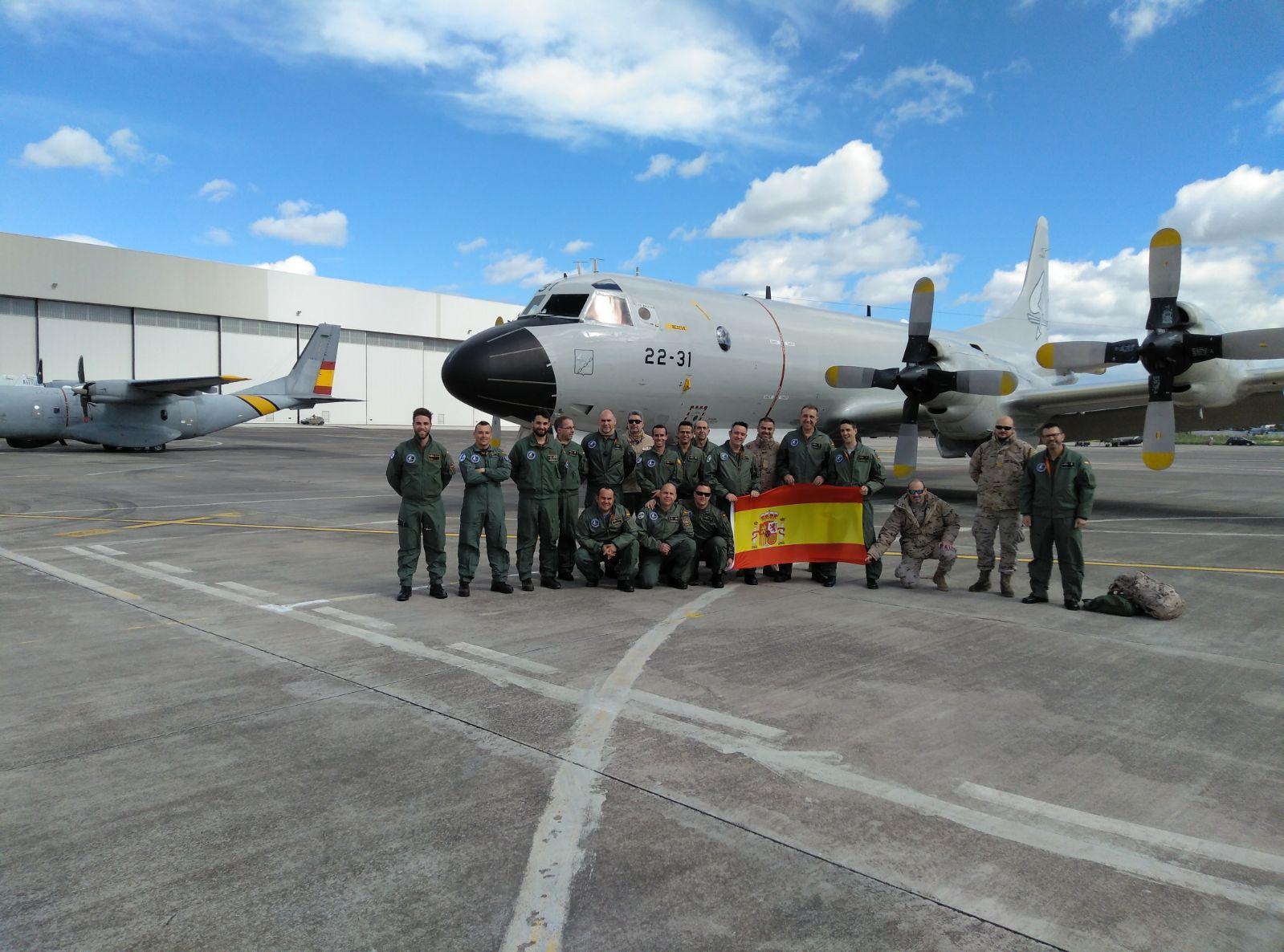 Los efectivos españoles destacados en el Dynamic Manta