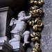 Tamworth, Staffordshire, St. Editha's, monument to John Ferrers † xiiiiº Augusti Aº mdclxxxº and his son Humphrey † die sexto Septembris Aº mdclxxviii, detail