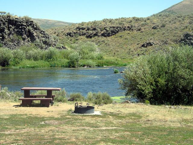 Blackfoot River: Sage Hen Flats Campground