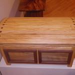 Tabebuia donnell-smithii blanket chest
