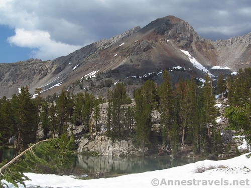 Tarn along the Duck Pass Trail, Inyo National Forest, California