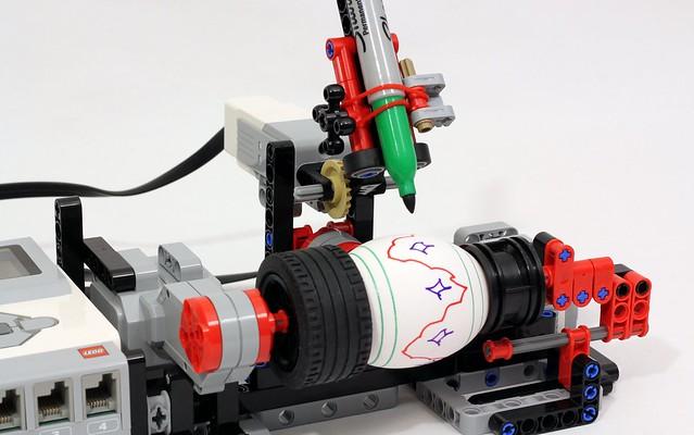 EV3 Egg Decorator | JK Brickworks