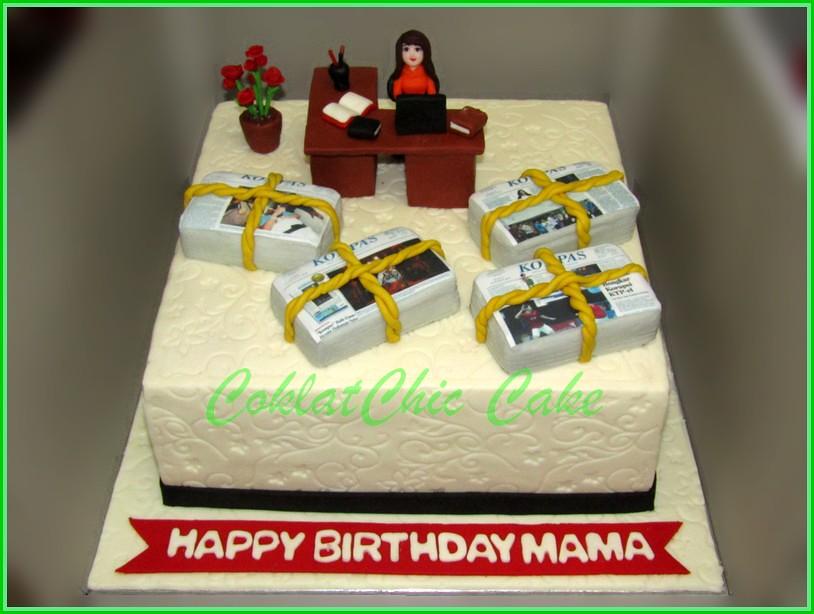 Cake Working MAMA Koran Kompas 30 cm