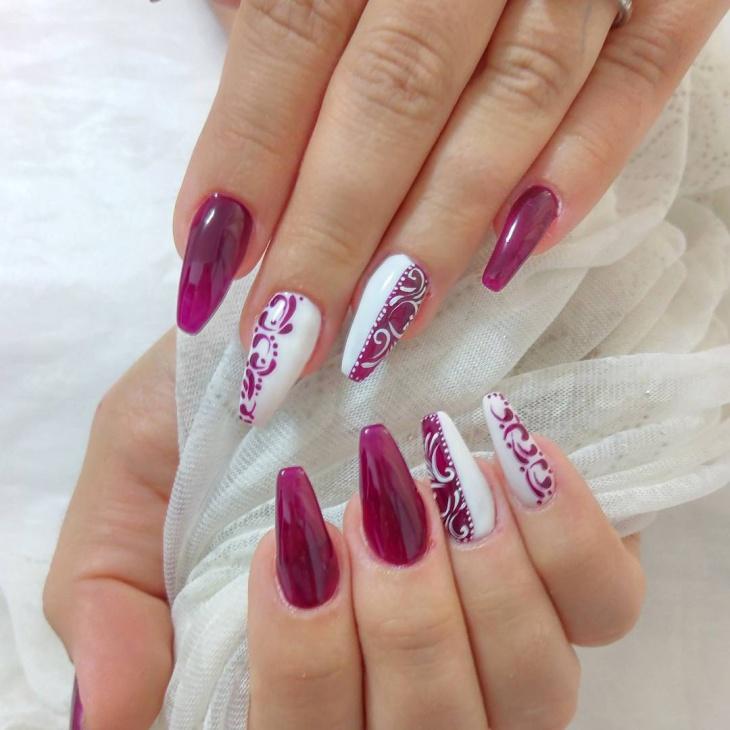 20+ Cute And Elegant Gel Nail Designs 2018
