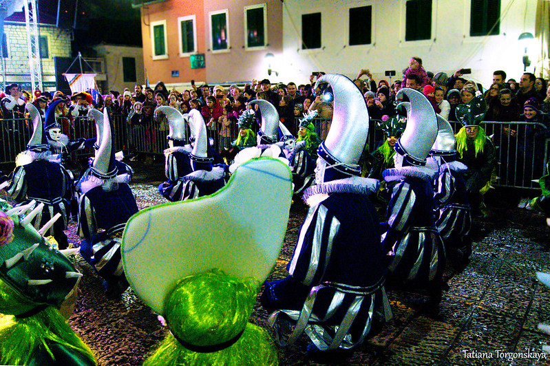 Карнавальная группа Струмицы на Закрытии 49 праздника мимозы