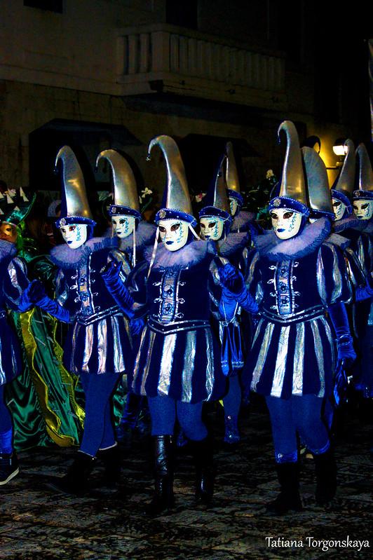 Выступление карнавальной группы из Струмицы