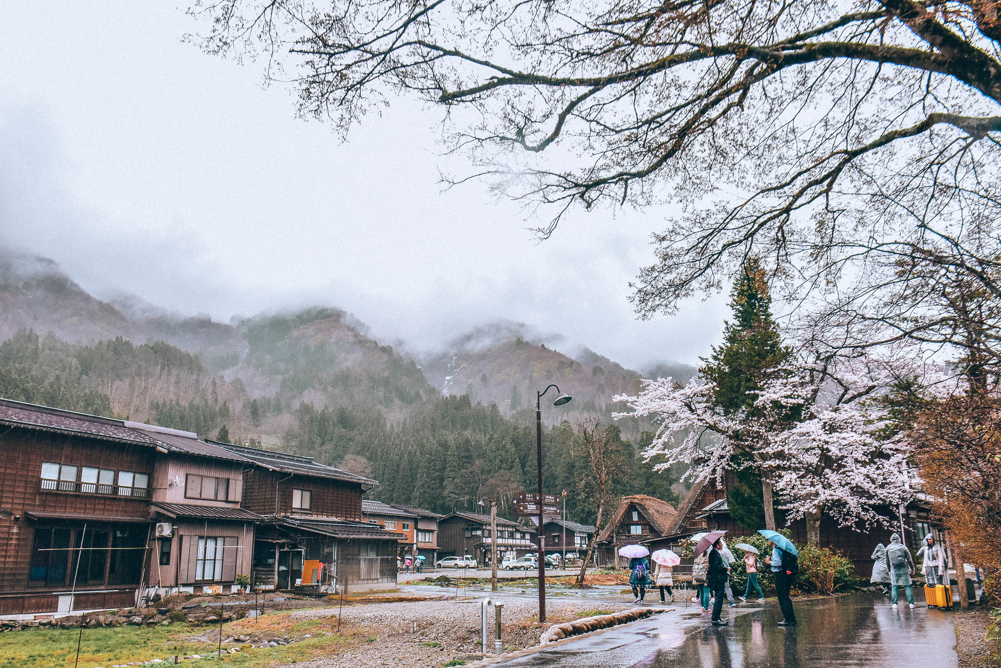 SHIRAKAWAGO FROM OSAKA