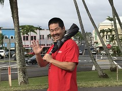 Hawaii Electric Light at the Hilo Heart & Stroke Walk - March 10, 2018: Hello from the Heart Walk!