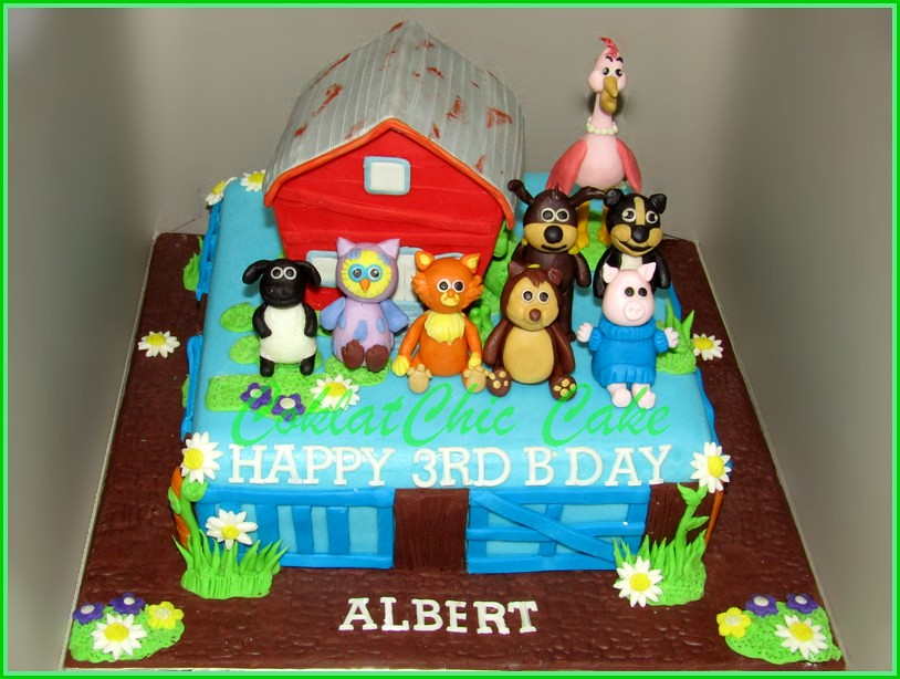 Cake Timmy Time ALBERT 20 cm