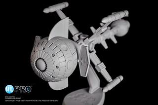 HL PRO《太空突擊隊》「彗星號」試做情報公開!METALTECH 11 キャプテン・フューチャー コメット号