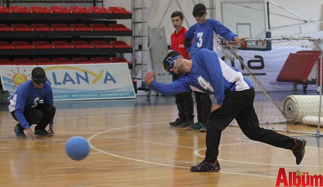 Alanya'da Goalball Şampiyonası başladı -5
