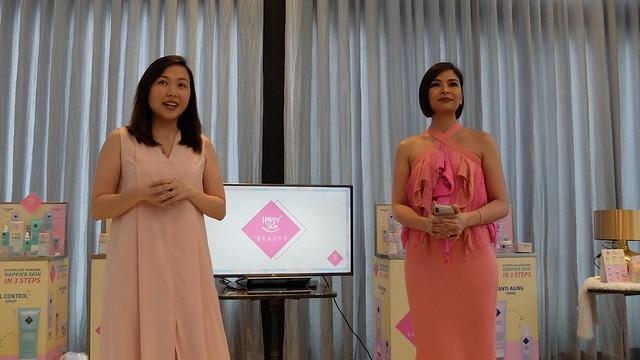 happy skin beauty launch