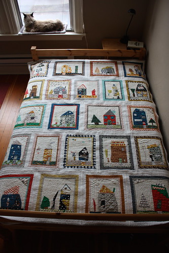 Auction Project: Kindergarten House Quilt - Front