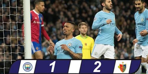 Cuplikan Gol – Manchester City 1-2 Basel – 07 Maret 2018 – Liga Champions