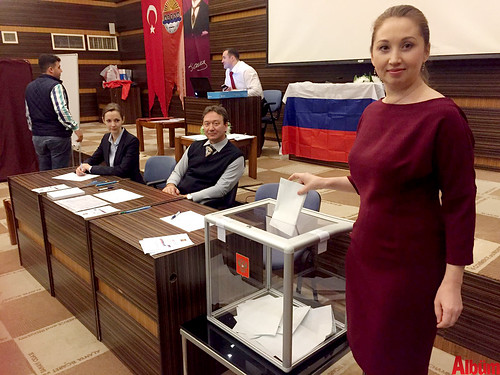 Ruslar Alanya'da oy kullandı-3
