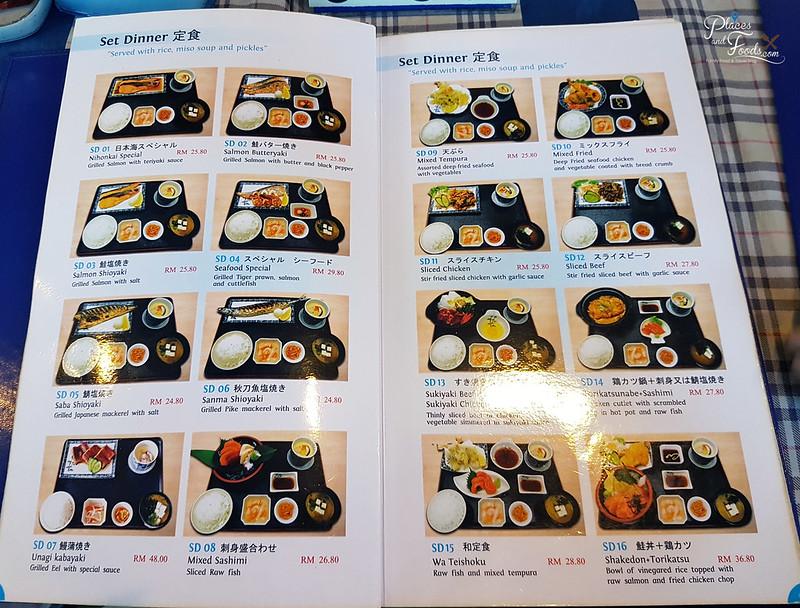nihonkai old klang road menu