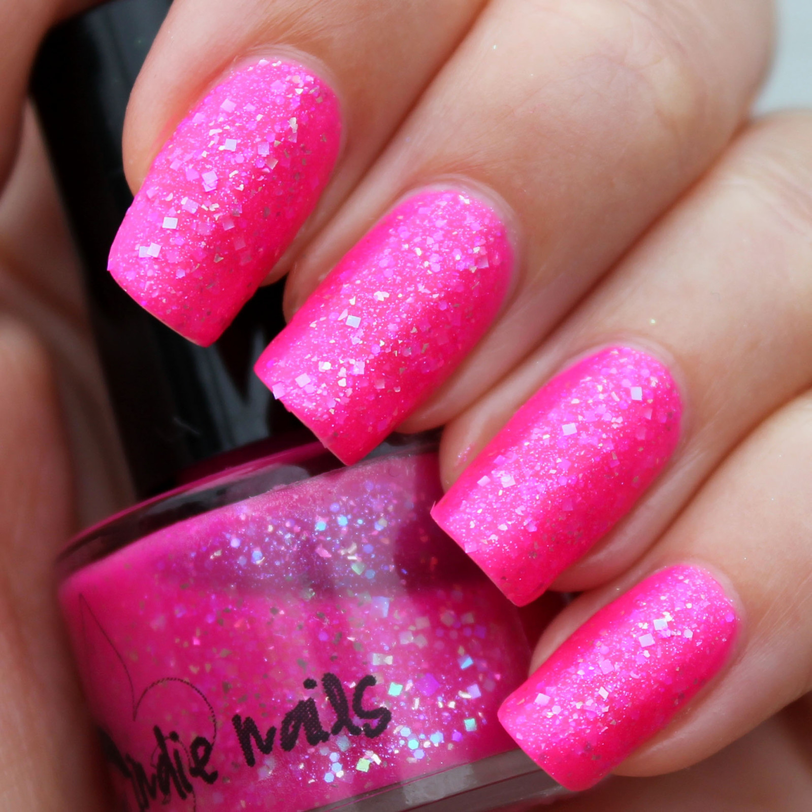 Hot Pink And Black Bedroom Punk Girly: +88 Hot Pink And Black Acrylic Nails