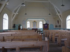 The Whalers Church, interior