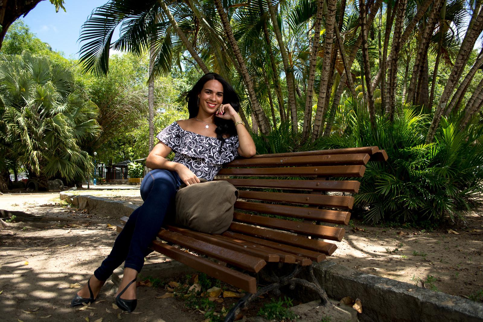 Evellyn Silva: mulher trans, trabalhadora e independente