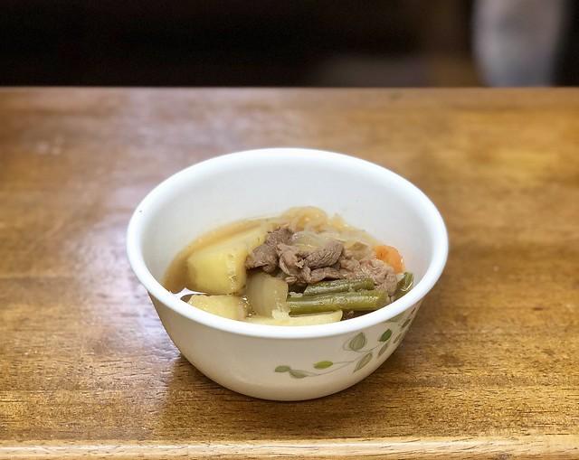 Ужин по-японски: 60 г мяса на троих