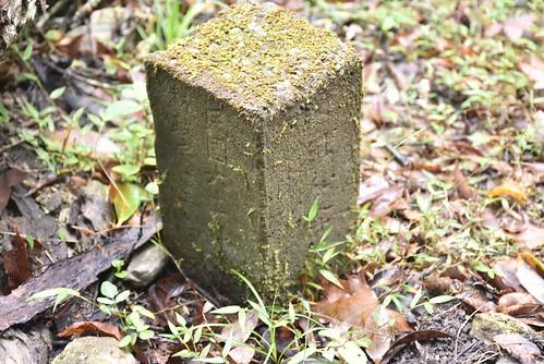 瓦拉米步道-不知名水泥石柱