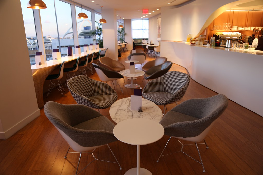 Virgin Atlantic Clubhouse LAX 12